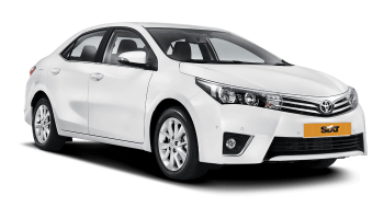 аренда машин долгосрочно по цене 23.93€ в день за Toyota Corolla